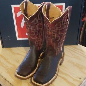 Tony Lama square toe boot